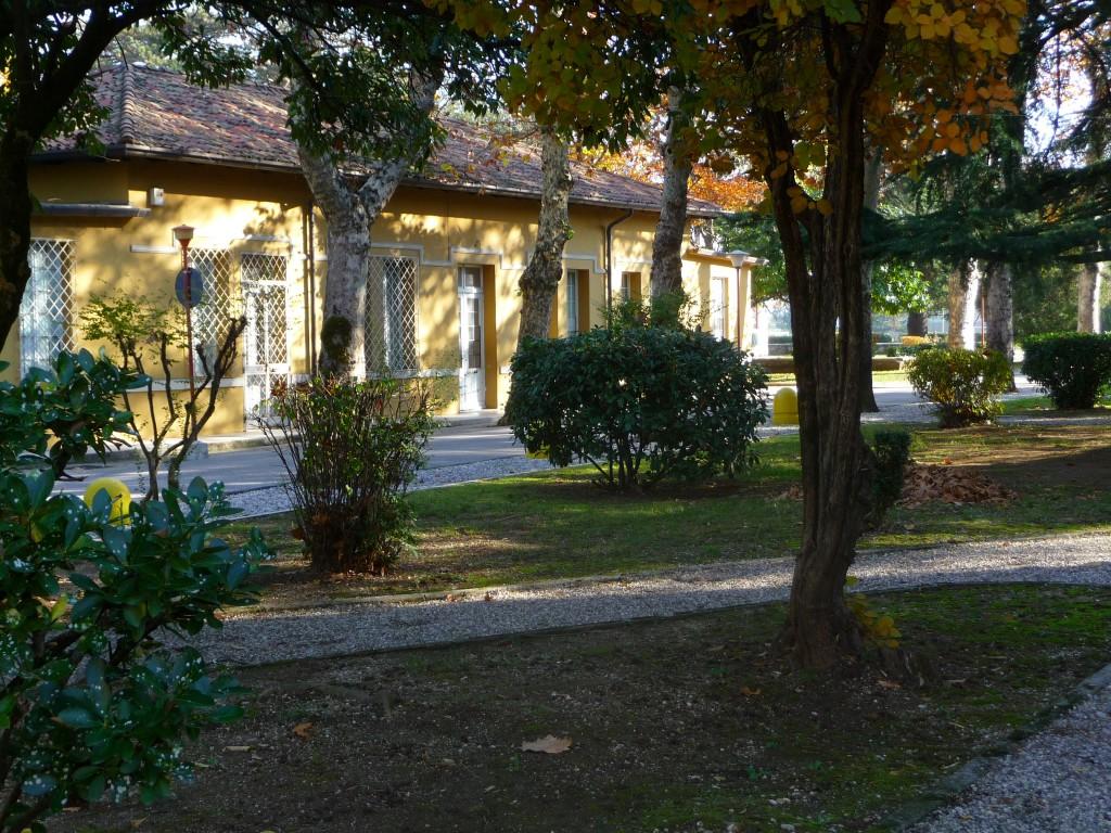 Uno scorcio del complesso del parco di Sant'Osvaldo