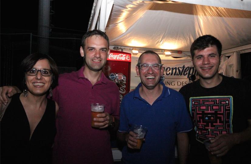 Al concerto di Chris Slade - 54° Festival di Majano