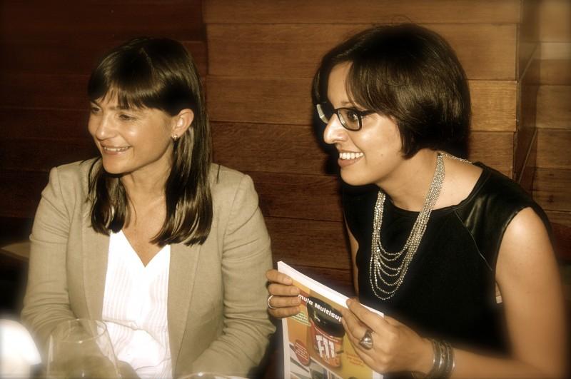 Con Debora Serracchiani