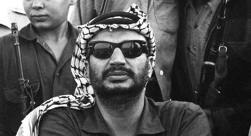 The Palestine Liberation Organization (PLO) chairm