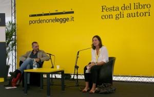 Caterina Soffici e Corrado Formigli a Pordenonelegge