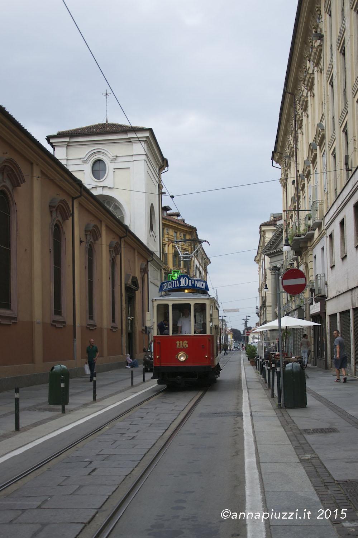 Il tram a Torino