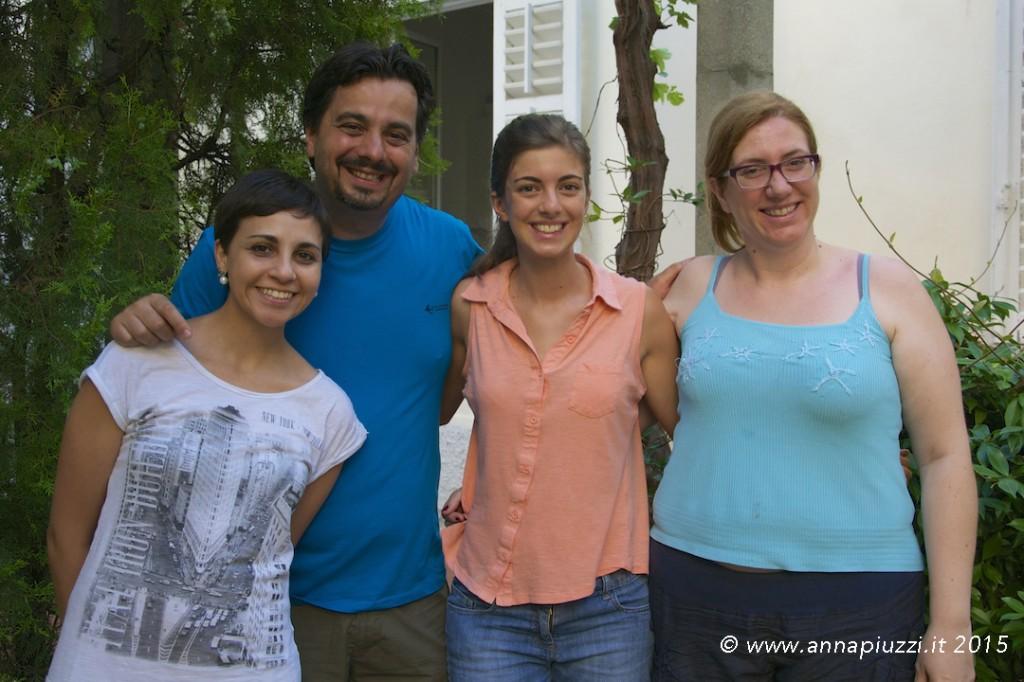 Giovani per pace - Rosaria, Paolo, Ilaria e Federica