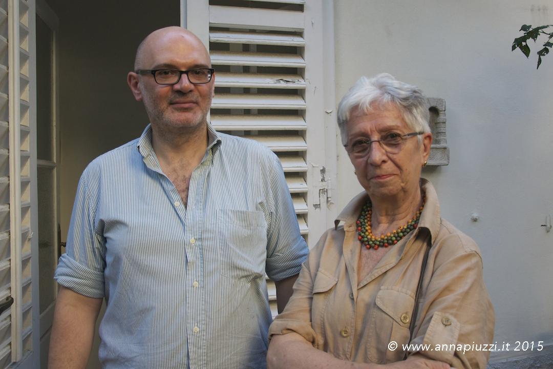 Cosimo Perrini e Franca Volio