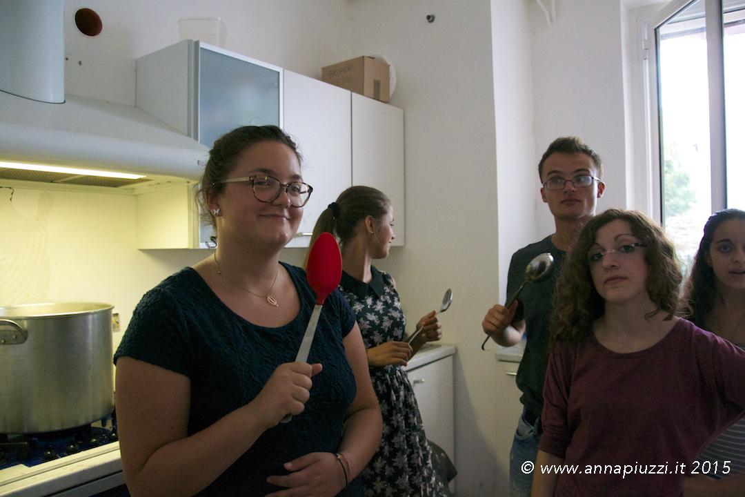 Giovani per la pace in cucina - Trieste