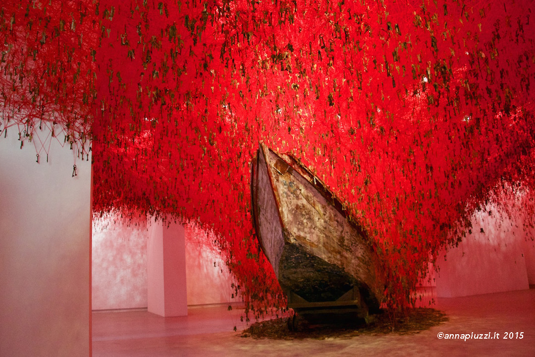 The Key in the Hand - Chiharu Shiota - Padiglione Giappone