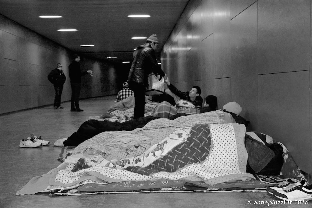 Sottopasso della Stazione di Udine - Capodanno 2016
