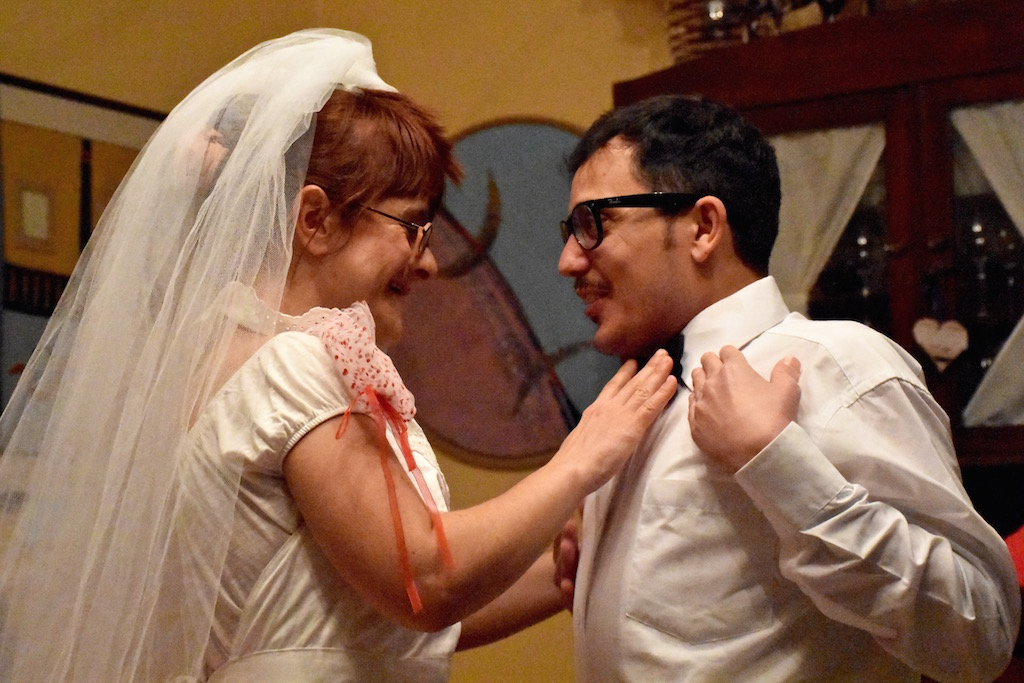 Cristiana Minasi e Giuseppe Carullo