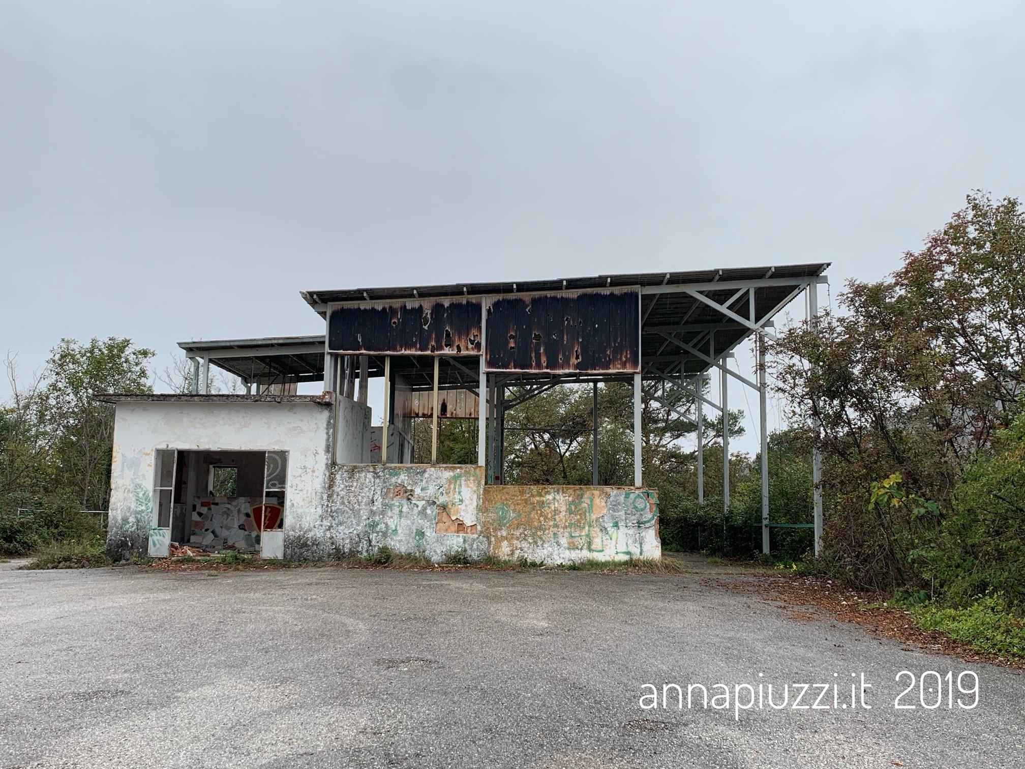 L'osservatorio del poligono militare